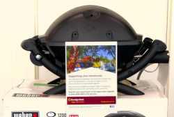 Weber BBQ door prize
