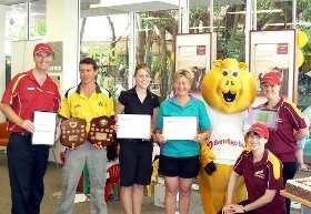 Bank staff & fund recipients