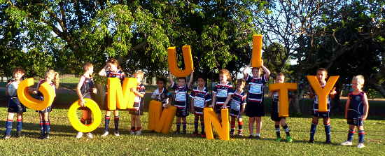 Local rugby Union Juniors