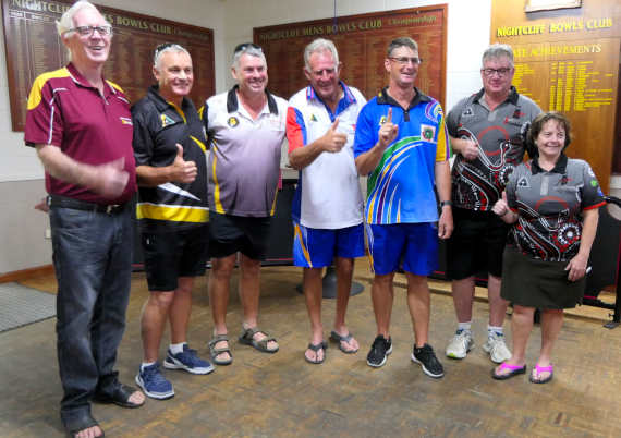 Winners grins at Nightcliff Bowls Club