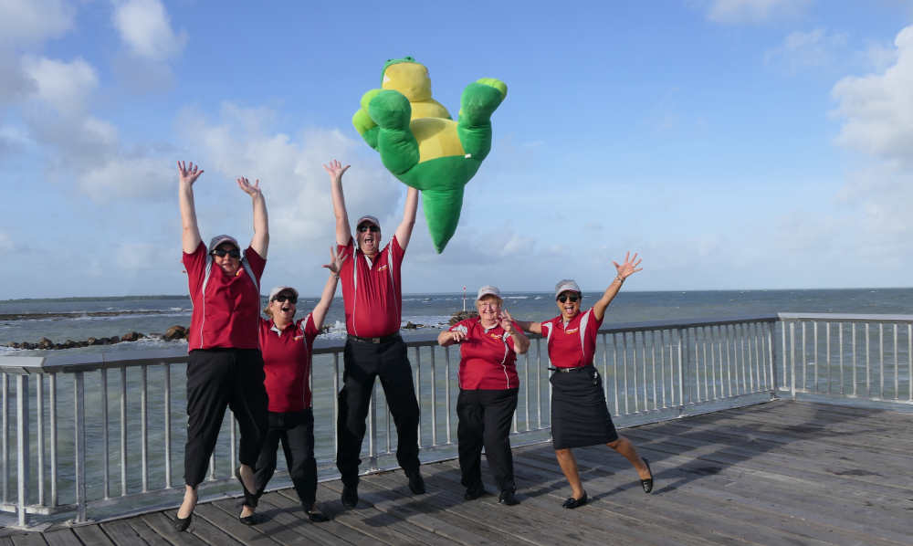 Staff at Nightcliff Jetty