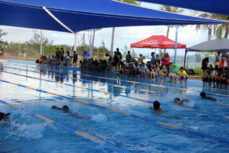 Nightcliff Community Bank® supports Nightcliff Middle School at their recent swimming carnival.