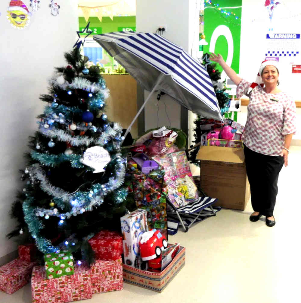 Xmas tree 2018 at RDH childrens ward